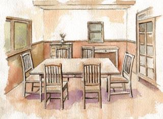 喫茶店開店の準備