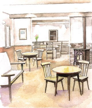 喫茶店の開店