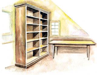 院長の書斎